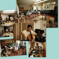 Recording with / avec Les Bons Becs